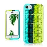 Besoar Black Green Fidget Caso per iPhone 6/6S/7/8/SE 2020 4.7'...