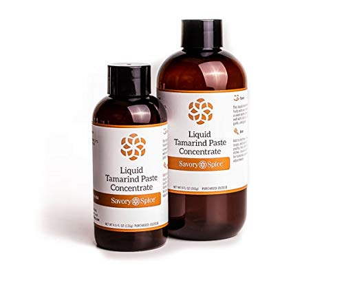 Savory Spice Liquid Tamarind Paste Concentrate -4 floz Bottle