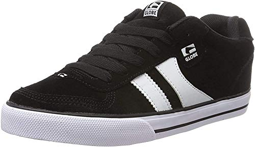 Globe Encore-2, Zapatillas de Skateboard Hombre, Multicolor (Black/White), 43 EU...