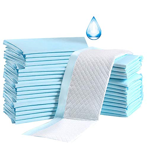 Baby Disposable Underpad 100 Count Incontinence Changing Pad Baby Diapers Newborn Pads Soft Breathable Waterproof Leak Proof Quick Absorb 13X18 Inch