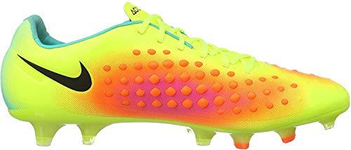 Nike MAGISTA OPUS II FG mens soccer-shoes 843813-708_10.5 - Volt, Total Orange