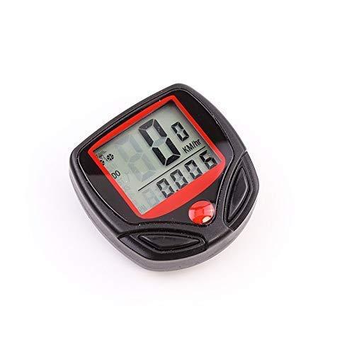 LQUIDE 1 pc avec Affichage numérique LCD étanche vélo Compteur kilométrique Compteur de Vitesse équitation Accessoires Outil