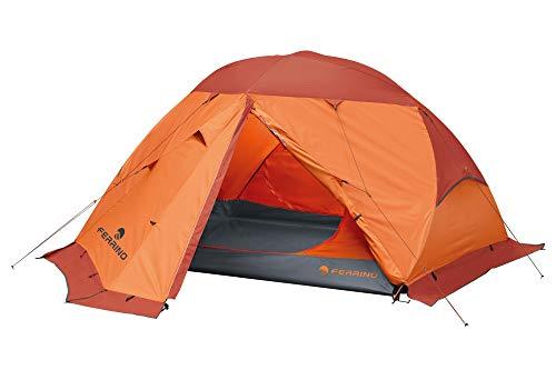 Ferrino Unisex– Erwachsene Svalbard Zelt, orange, 3 Personen