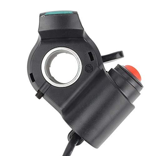 SANON Daumen Gaszug Daumen Finger Gashebel Batterie Display Universal-Zubehör für 12V-99V Elektrofahrräder