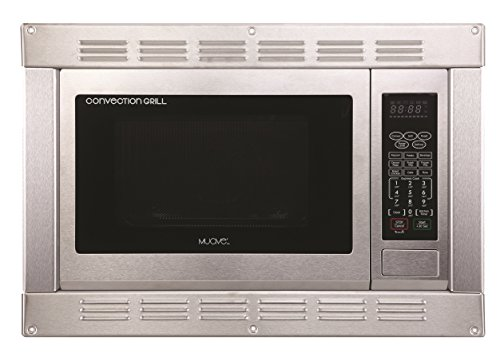 1.0 Cubic Ft., 120v Stainless Steel Home Microwave Convection Oven and Grill with Built-in Trim Kit