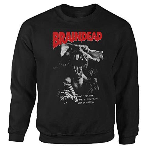 Sweat-shirt Braindead Horror Halloween Splatter Zombie Evil Dead Resident Film Noir XXXL