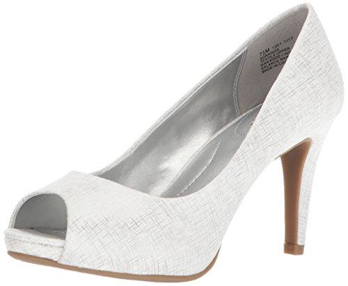 Bandolino Footwear Women's Rainaa Pump, Silver, 10.5