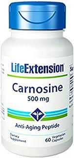 Carnosine 500 mg, 60 Vegetarian Capsules-Pack-3