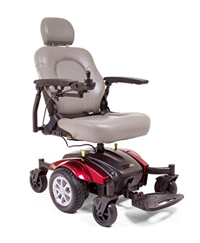 Sale!! Mid-Wheel Drive Power Wheelchair for Mobility - Long Drive Range with Tight 19.5 inch Turning...