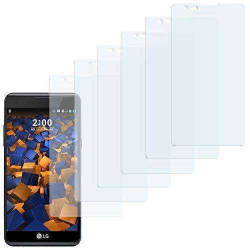 mumbi Schutzfolie kompatibel mit LG X Power Folie klar, Bildschirmschutzfolie (6X)