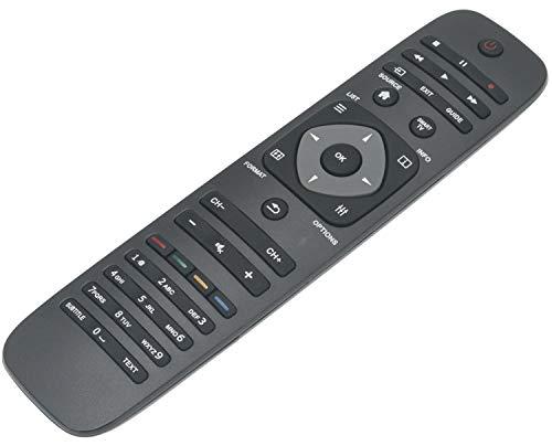 ALLIMITY 996590004765 Control Remoto Reemplazar por Philips LED Smart TV 40PFL4418T 40PFL4468H 40PFL4468K 42PFL3208T 42PFL4208H 42PFL4208K 46PFL4508H 46PFL4908K 46PFL4908M 55PFL4508T 55PFL4528H