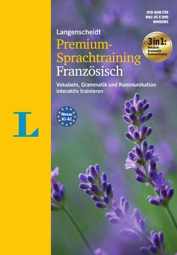Langenscheidt Premium-Sprachtraining Französisch - DVD-ROM: Vokabeln, Grammatik und Kommunikation interaktiv trainieren