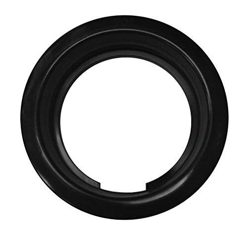 "Abrams 4"" Round Black Rubber Grommet for Universal 4 Inch Round RV Truck Trailer Tail Lights"
