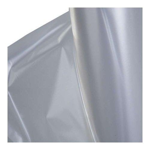 Baufolie Typ 200 2m x 50m (100m²) transparent - Schutzfolie Abdeckfolie Estrichfolie Bauplane