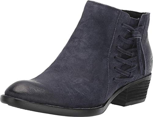 BORN Bessie Navy Distressed 7.5 M (B)