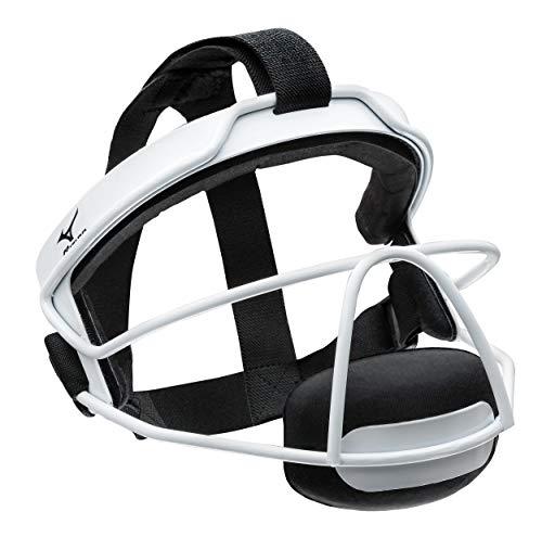 Mizuno 380266.0000.01.0000 Wire Fastpitch Softball Fielder's Mask S/M White (0000) NO Size (0000)