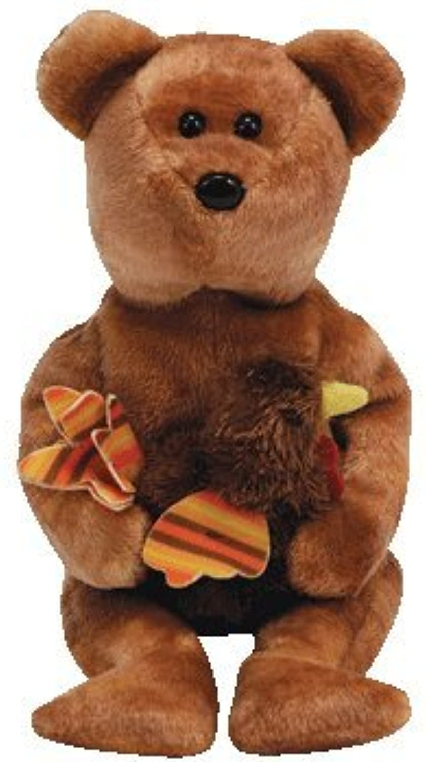 Ty Beanie Babies  Pilgrim the Bear (Internet Exclusive)