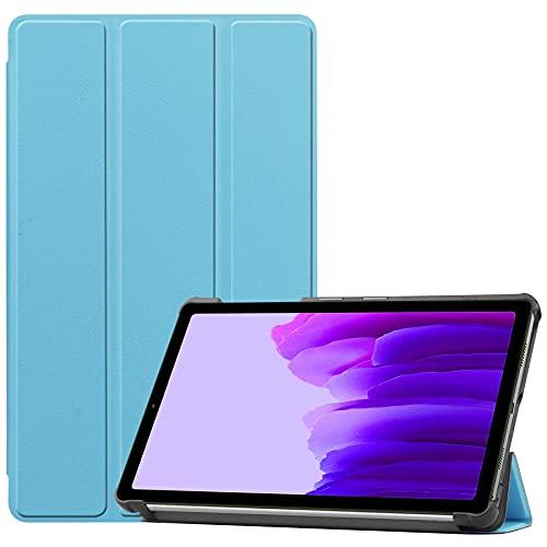 Gos Elec Funda para Galaxy Tab A7 Lite 2021 de piel sintética premium con función atril para Galaxy Tab A7 Lite SM-T220/T225 (azul cielo)