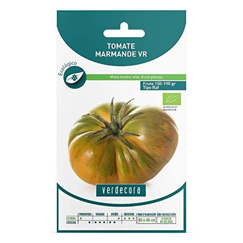 Verdecora   Semillas ecologicas tomate marmande raf