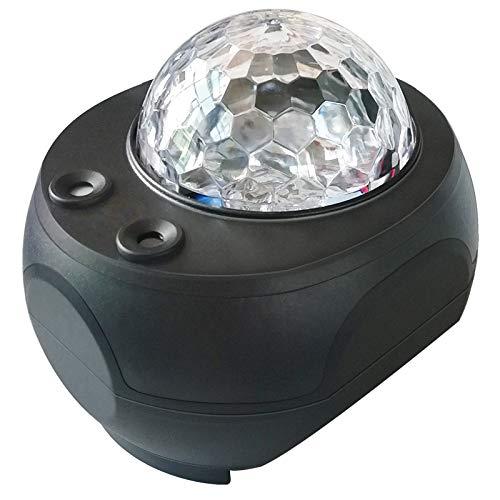 スタープロジェクターライト ベッドサイドランプ Bluetooth スピーカー 一台二役 投影ランプ Bluetooth4.0/USBメモリに対応 プラネタリウム 10種点灯モード タイマー機能付き 音声制御 輝度/音量調整可 ロマンチック雰囲気作り クリスマス/ハロウィン/パーテイー飾り/お子さん・彼女にプレゼント/誕生日ギフト