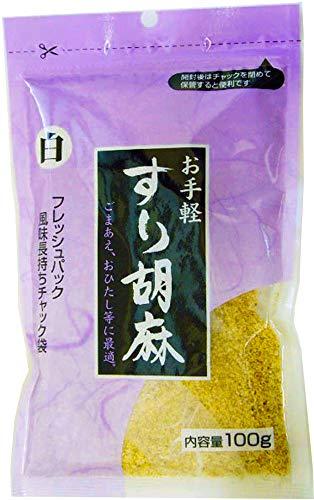 まるほ食品 すりごま (白) 100g×10個