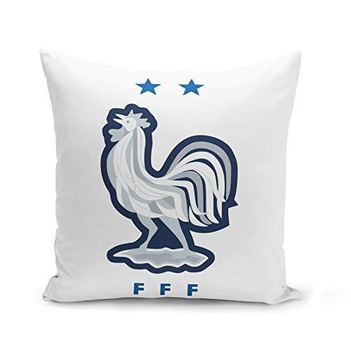 Fabulous Housse de Coussin 40x40 cm Blason France Champion du Monde Football Equipe National Embleme Sport