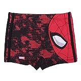 Spiderman Pantaloncini da Bagno per Bambino, Costume Mare Boxer Slip Calzoncini da Bagno, Vacanza, Traspirante ad Asciugatura Rapida, 6 Anni