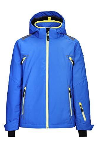 Killtec Kinder Dalyn Jr Skijacke/Funktionsjacke Mit Abzippbarer Kapuze Und Schneefang, blau, 128