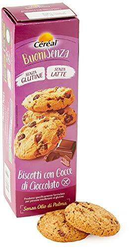 Céréal Biscotti Gocce Cioccolato con Cacao Utz senza Glutine e Latte, 150g