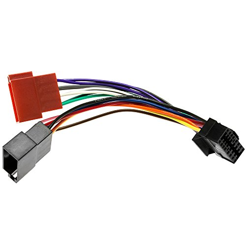 Adapter-Universe® Sony Câble Adaptateur DIN ISO pour autoradio 16 Broches