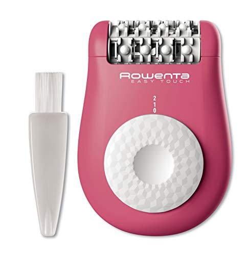 Rowenta Easy Touch EP1110F0 Depiladora eléctrica, rosa/blanco