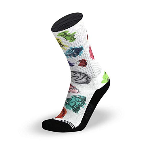LITHE Calcetines Space Jam - White Socks