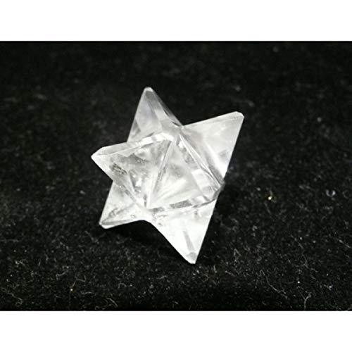 Merkaba en quartz transparent petite taille
