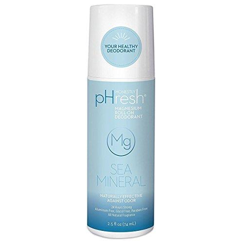 Honestly pHresh Unisex Essential Mineral Roll-On Deodorants Sea Mineral 2.5 fl. oz.