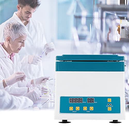 BLLJQ Centrífuga Laboratorio Máxima, Rotores de Aleación de 20mlX2 con Función de Alarma 0-99min, Baja Velocidad Eléctrica 0-4000 RPM / 2325 xG