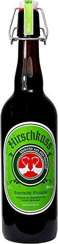 Hirschkuss 38% 0,7l Schnackelverschlussflasche