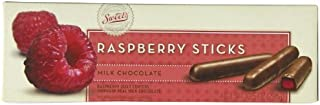 Sweets Candy Milk Chocolate Sticks, Raspberry, 10 Ounce by Sweets Candy