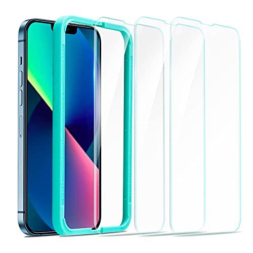 ESR iPhone 13 Models Tempered-Glass Screen Protector (3-Pack) $3 OFF   Deals