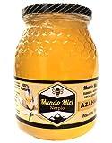 Miel de abeja Natural, Cruda y Pura de AZAHAR. Directa del Apicultor. Nerpio, Sierra del Segura, 100% NATURAL- Empresa Familiar- Desde 1972- Origen ESPAÑA 1Kg