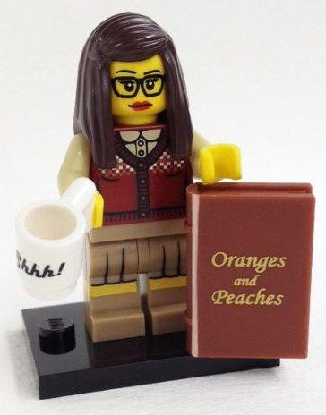 LEGO Figurines à Collectionner: Bibliothécaire Mini-Figurine (Série 10)