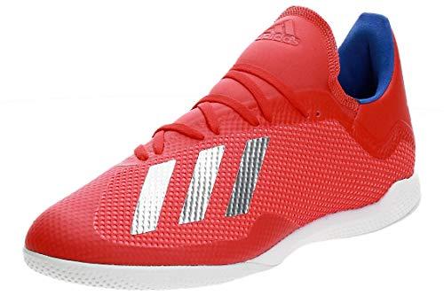 adidas Herren X 18.3 In Fußballschuhe, Mehrfarbig (Rojact/Plamet/Azufue 000), 44 EU