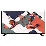 CYYAN LED TV 4K Ultra HD TV, 42/50/55/60 Pulgadas Smart TV Altavoz de Rango Completo HDMI USB-Negro