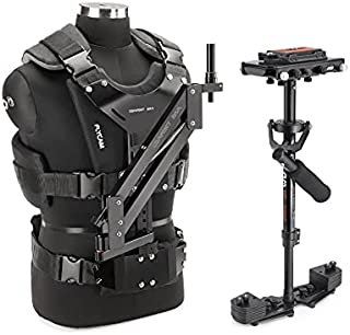 FLYCAM HD-3000 Camera Steadycam System with Comfort Arm and Vest | Table Clamp and Unico Quick Release Plate Supporting Ca...
