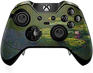 Skinit Decal Gaming Skin for Xbox One Elite Controller - Officially Licensed Bridgeman Art The Waterlily Pond by Claude Monet Design