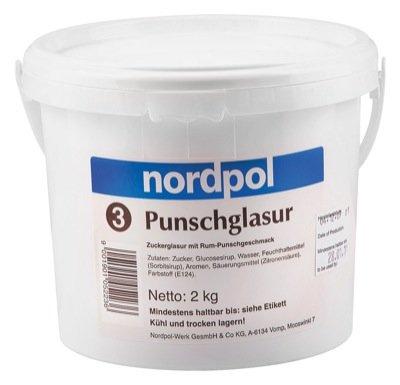 Nordpolwerk Zuckerglasur Punsch 2kg