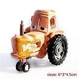 Features:Diecast; Scale:1:55; Sconosciuto Generic Disney Cars Disney Pixar Cars 3 Racer King Chick Hicks McQueen No.95 Diecast Metal Alloy Toy Car Model 1:55 Disney Cars 14