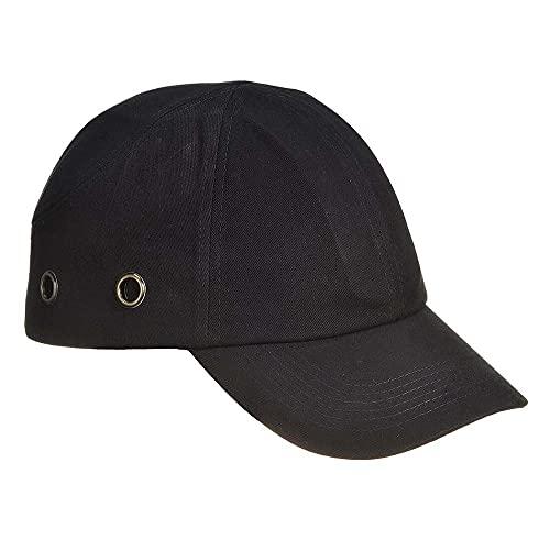 Portwest PW59BKR - Gorra, color negro
