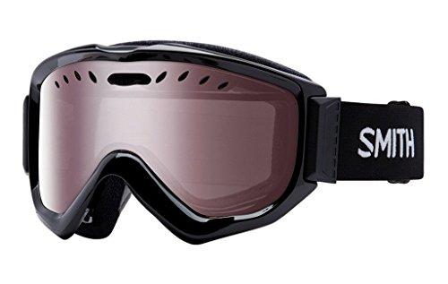 Smith Knowledge OTG Asian Fit Snow Goggles (Black, Ignitor Mirror)