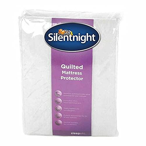 Silentnight Surmatelas de matelassé - Simple