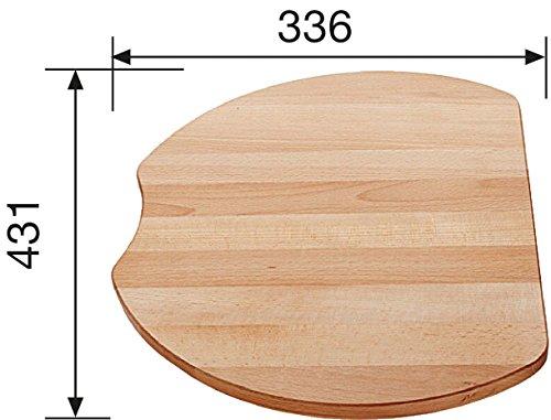 Blanco 215 525 houtsnijplank beuken houten plank toebehoren voor Sp lbecken Sp le K che